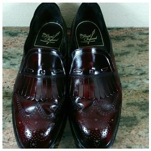 Men's Florshiem burgundy loafers